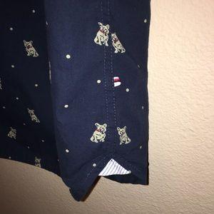 df480ca9b0 Denim   Flower Shirts - Denim   Flower Ricky Singh XL Slim Fit Pug Shirt